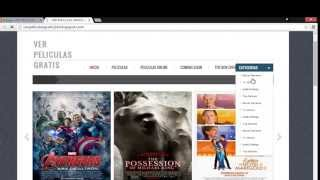 como crear pagina web de películas (4 parte)