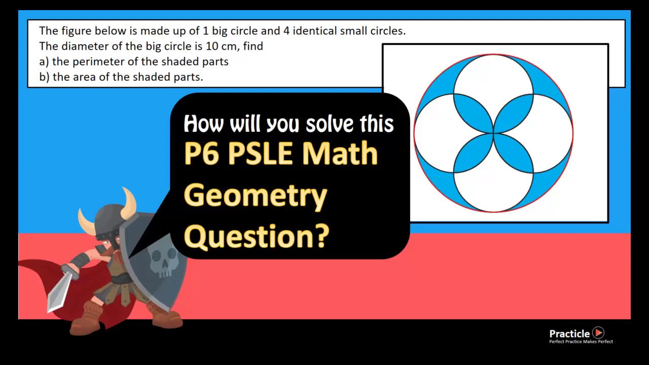 Primary 6 PSLE Math Question on Geometry 2 - YouTube