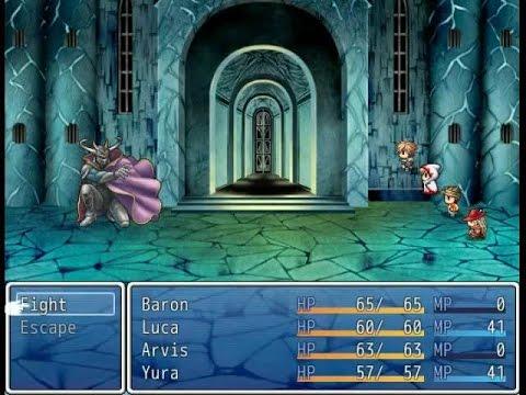 RPG Maker VX Ace Game : Final Fantasy 1 Remake