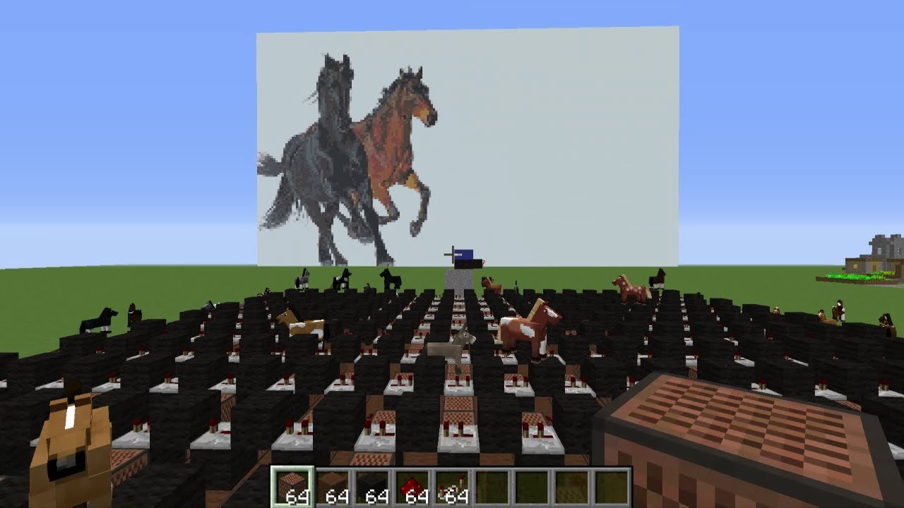 I Made Old Town Road Using Minecraft Note Blocks Youtube