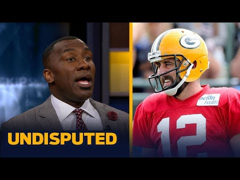 Aaron Rodgers says Colin Kaepernick should be playing in the NFL  Shannon reacts  UNDISPUTED