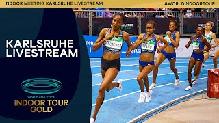 World Athletics Indoor Tour Gold | Karlsruhe Livestream