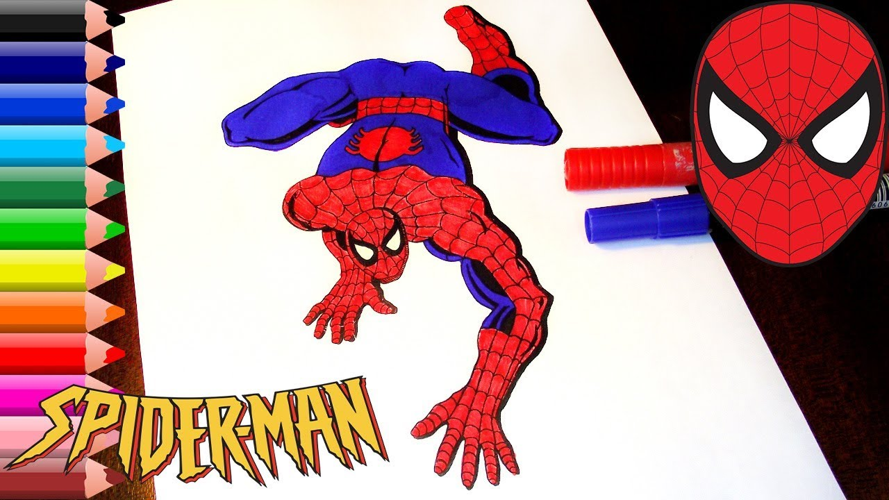 spiderman coloring pages for kids spiderman coloring book for