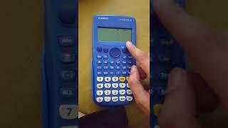 Como apagar una calculadora.