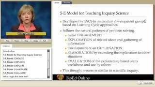 5E Lesson Model for Teaching Inquiry Science