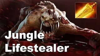 KuroKy Jungle Lifestealer + Radiance Tactic - Dota 2