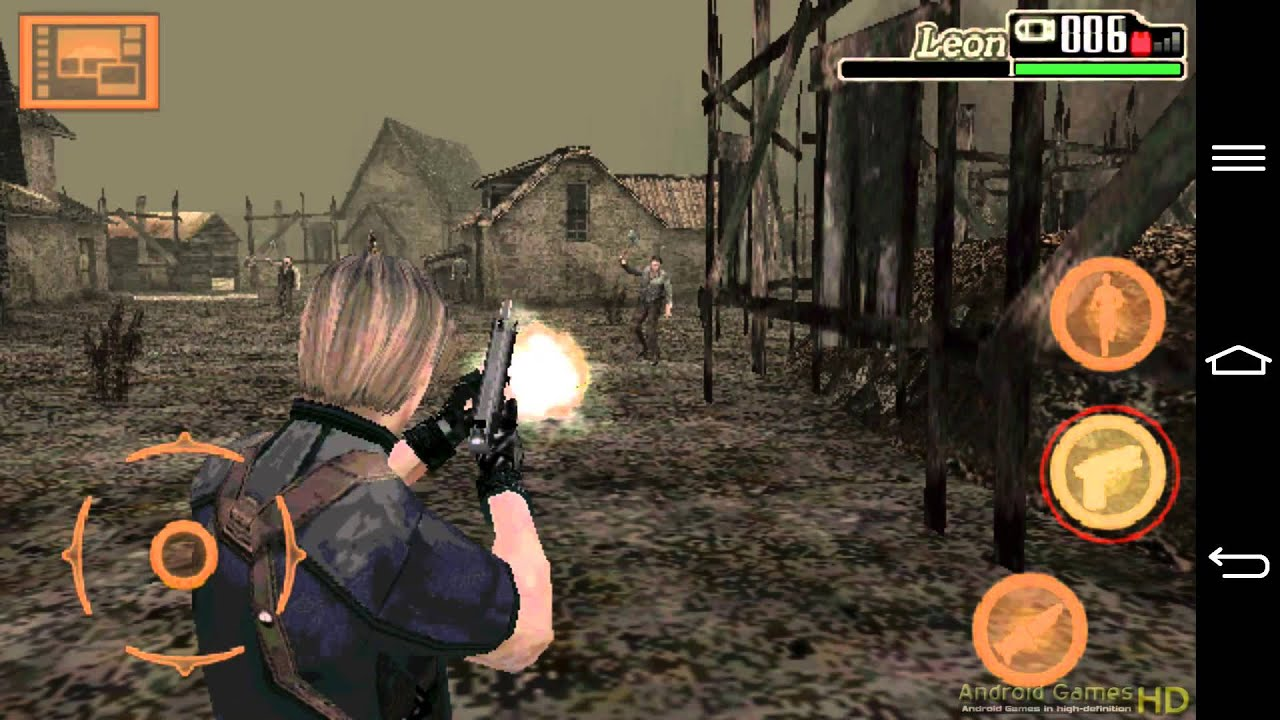 resident evil 4 mobile edition gameplay android hd hq audio