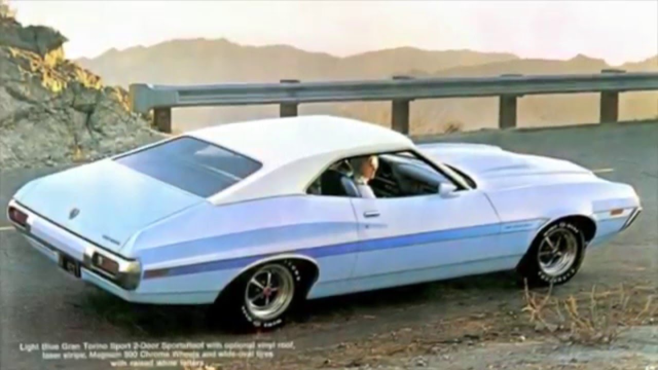 Ford Gran Torino Part Muscle Car Hd Youtube