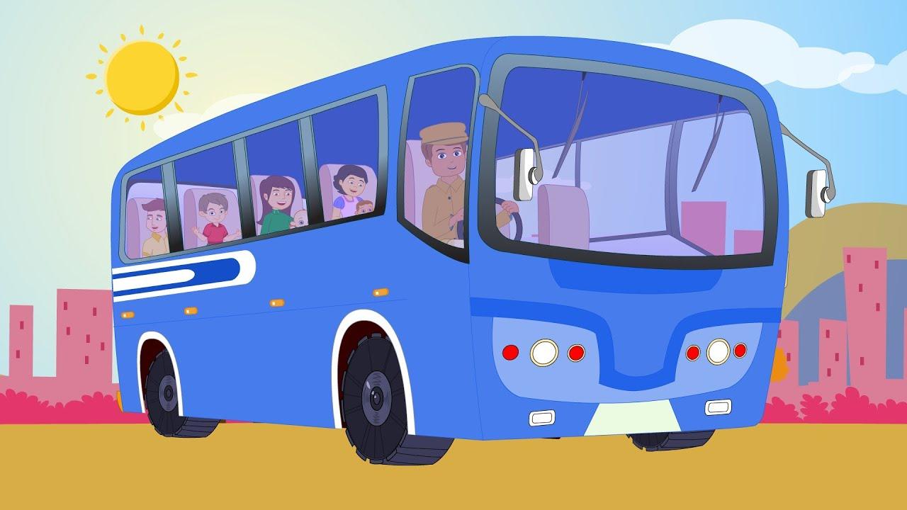 Wheels on the bus simple songs