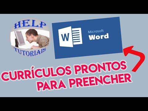 CURRICULO PRONTO WORD – 2019 ( RÁPIDO E FÁCIL) from YouTube · Duration:  4 minutes 47 seconds