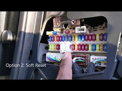 Nissan Rogue Liftgate Trunk not opening DIY fix – Solved