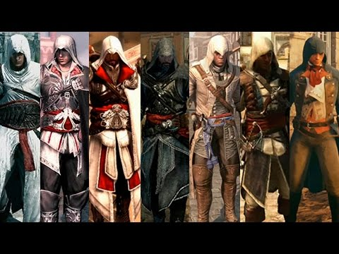 Assassins Creed Unity VS Assassins Creed SAGA   Evolución ...