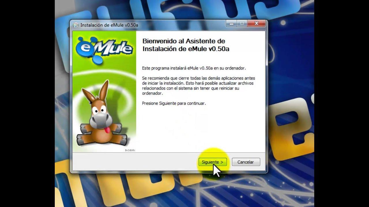 descargar emule gratis para windows 10