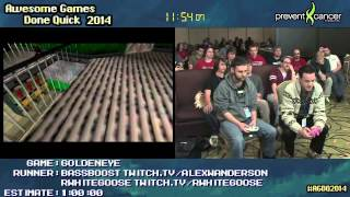 Goldeneye 007 :: SPEED RUN (0:24:01) (Co-op) #AGDQ 2014 [N64]
