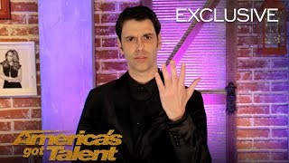 Lioz Shem Tov Sets The Record Straight On His Powers - America's Got Talent 2018