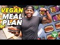 My 4-Day High Protein Vegan Meal Plan