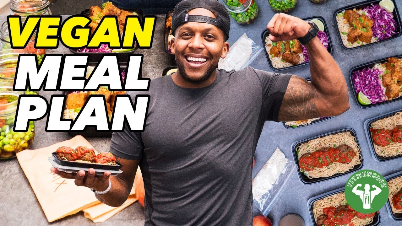 4-Day High Protein Vegan Meal Plan - Fit Men Cook