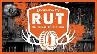 The Legendary R.U.T. | Cargo Trailer to Hunt Camper Conversion