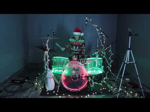 Grandma Got Run Over By A Reindeer - Drum Cover - Reel Big Fish
