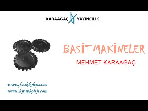 Basit Makineler Konu Anlatımı Mehmet Karaağaç www.kitapkoleji.com