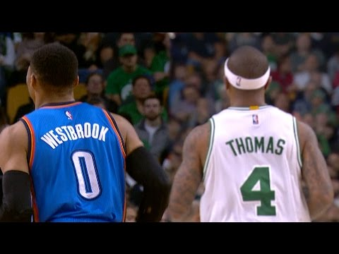 Russell Westbrook and Isaiah Thomas Battle in Boston | 12.23.16