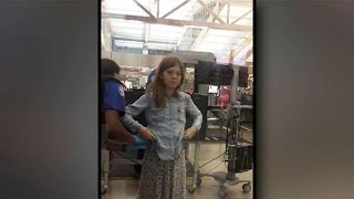 Outrage over 10-year-old's TSA pat-down
