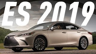 NEW LEXUS ES 2019 in Paris