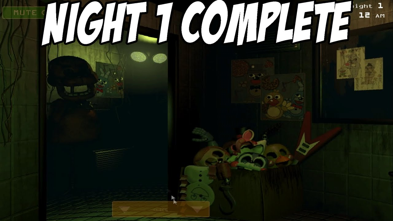 its here five nights at freddys 3 gameplay walkthrough part 1