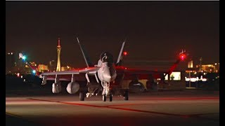 EA-18G Growlers at Nellis -- Red Flag B-Roll