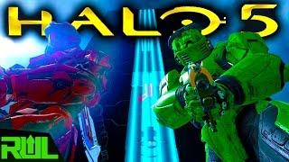 HALO 5 | FORGE MONOLITH PARKOUR MAP (Halo 5 Guardians)