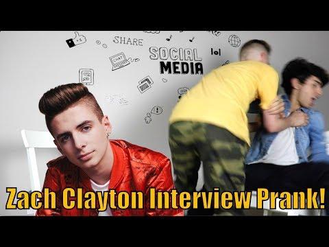 Zach Clayton Interview Prank   Bruhitszach
