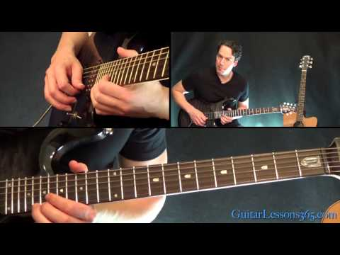 Hells Bells Guitar Lesson Pt.2 - AC/DC - Solo