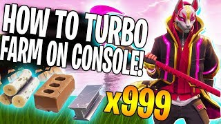 How To Turbo Farm On Console & PC - Fortnite Season 5 Update