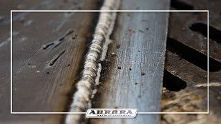 Сварка алюминия полуавтоматом SPEEDWAY 160(Ролик посвящён нюансам сварки алюминия с помощью синергетического полуавтомата Aurora PRO SPEEDWAY 160 http://aurora-online.ru/..., 2015-11-09T09:30:36.000Z)