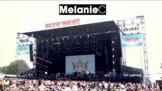 Melanie performs a 10 song set at the Isle Of Wight Festival on Jun...