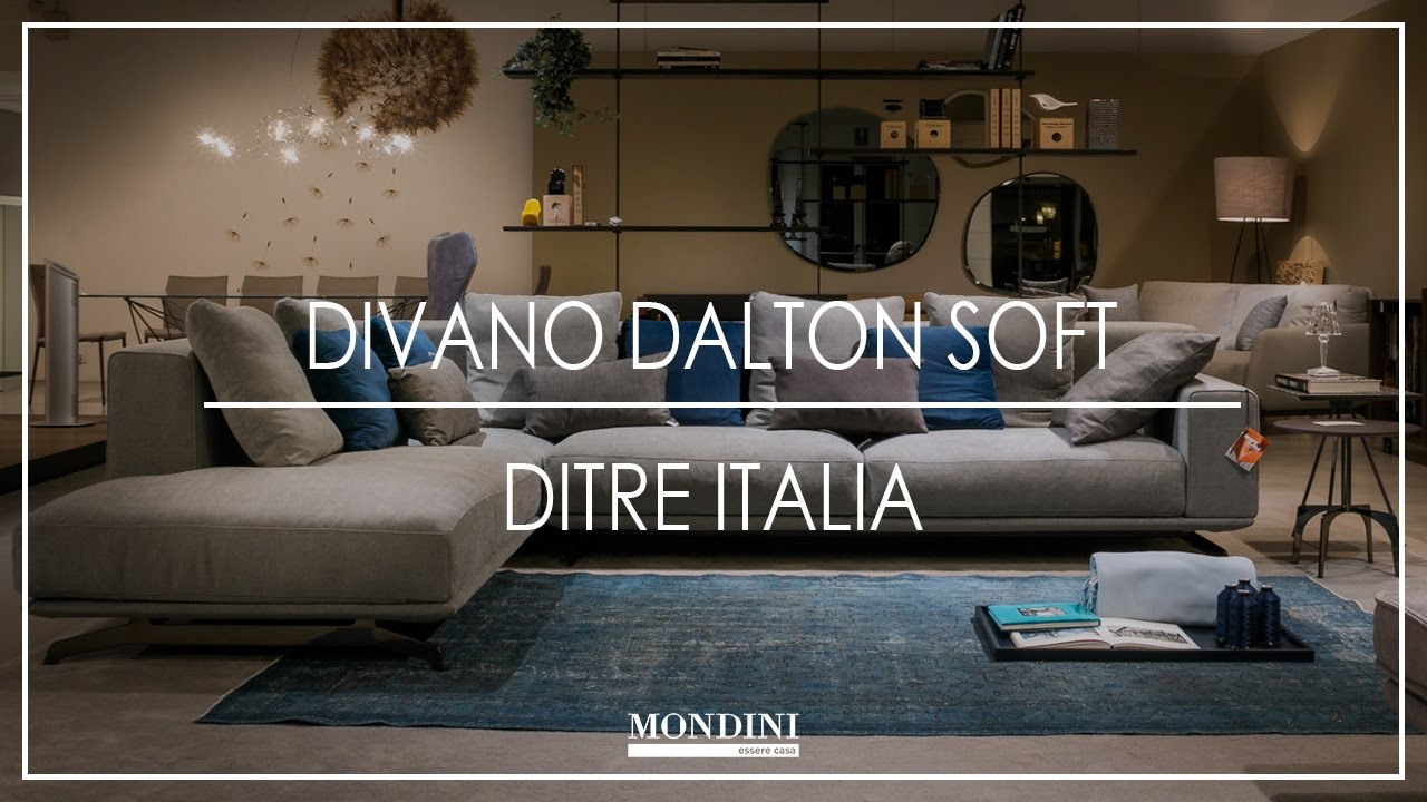 Mondini Divano Dalton Soft Ditre Italia