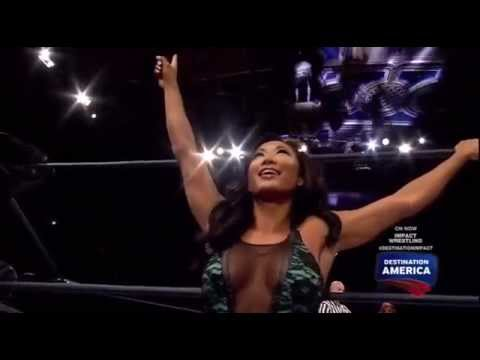 30.01 Madison Rayne vs Gail Kim vs Taryn Terrell FULL MATCH