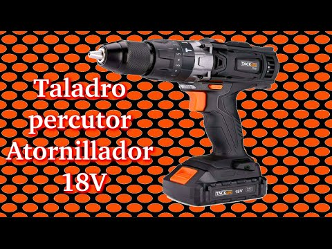 Taladro percutor TACKLIFE 18V
