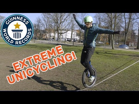 Lutz Eichholz: Extreme Unicycling – Meet The Record Breakers Europe