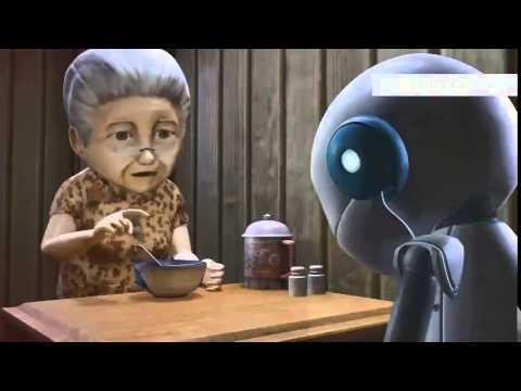 Анимация про робота мультфильм