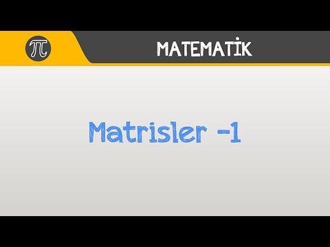 Download Matrisler -1 | Matematik | Hocalara Geldik