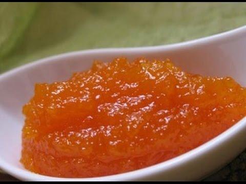Персиковый джем из кабачков