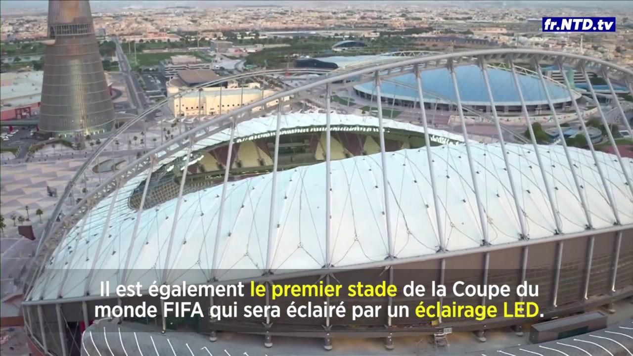 Le stade international khalifa accueillera la coupe du monde au qatar 2022 youtube - Stade coupe du monde 2022 ...