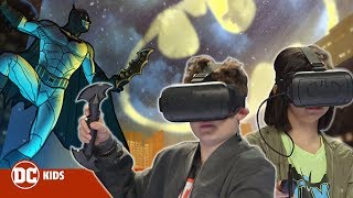 NEW BATMAN VR GAME! BATMAN VRSE | DC KIDS SHOW