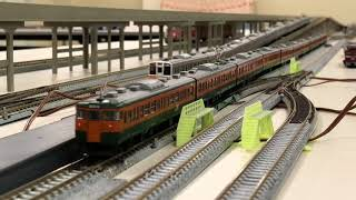 ≪鉄道模型≫  #プレハブ模型倶楽部 小金井駅風レイアウト (2018年5月 定例運転会)