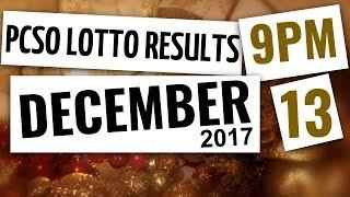 Lotto Results Dec 13, 2017, 9PM ft. Ez2, Swertres, 4D, 6-45, & 6-55