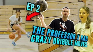 The Professor's BEST Streetball Move Tutorial! He Taught Rachel DeMita How To BREAK Ankles 😱