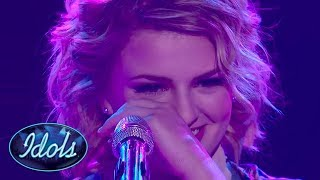 MADDIE POPPE Gets Emotional After Her God Only Knows Beach Boys Cover On American Idol 2018