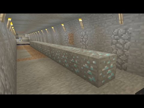 Let's Play Minecraft Episode 85 - Mining Diamond