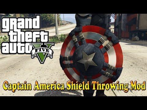 Captain America Shield Throwing Mod
